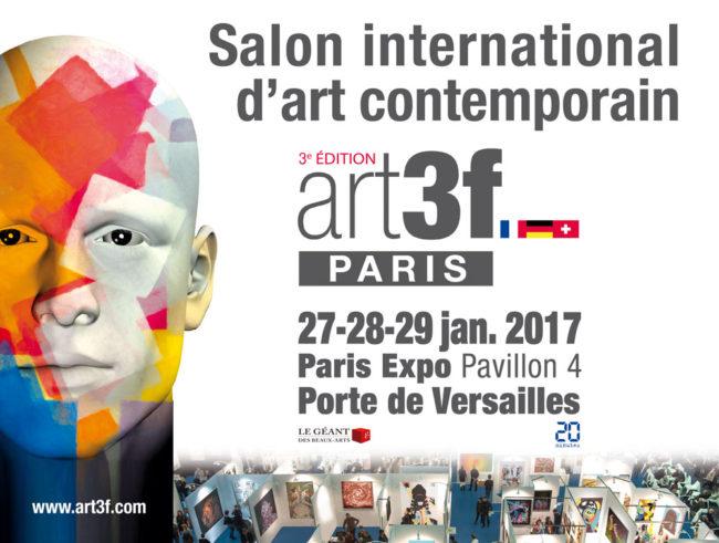 Salon international d'art contemporain : art3f 2017