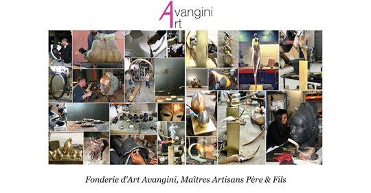Isabelle Thiltgès, réalise un focus sur la fonderie d'art Avangini